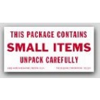 """2x4"""" Contains Small Items Shipping Labels 500/rl"""