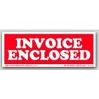 "1-1/2x4"" Invoice Enclosed Labels 500/rl"
