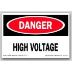 "2x3"" Danger High VolTage Labels 500/rl"