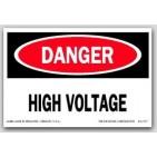 """2x3"""" Danger High VolTage Labels 500/rl"""