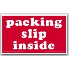 "3x5"" Packing List Inside Labels 500/rl"