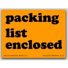 "3x4"" Packing List Enclosed Labels 500/rl"