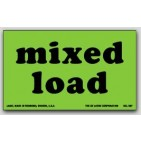 "3x5"" Mixed Load Shipping Labels 500/rl"