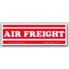 "2x6"" Air Freight Shipping Labels 500/rl"