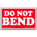 "3x5"" Do Not Bend Labels 500/rl"