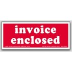 "2x5"" Invoice Enclosed Labels 500/rl"
