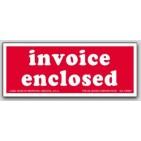 "2x5"" Invoice Enclosed Labels 500/rl"