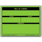 "3x4"" Bill of Lading Shipping Labels 500/rl"