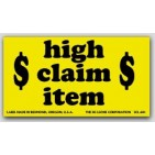 "3x5"" High Claim Value Shipping Labels 500/rl"