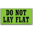 "2-1/2x5"" Do Not Lay Flat Labels 500/rl"
