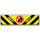 "2x8"" Heavy Warning Shipping Labels 500/rl"