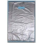 "10x13"" Silver HDPE Merchandise Bags 1000/cs"