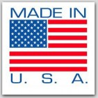 "4x4"" Made In The USA Labels 500/rl"
