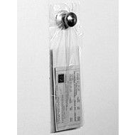 5-1/2x15&quot; Clear Plastic Door Knob Bags  1000/cs