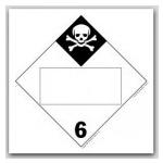 DOT 4 Digit Placards - Class 6