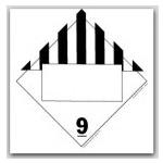 DOT 4 Digit Placards - Class 9