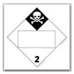 DOT 4 Digit Placards - Class 2
