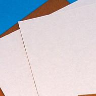 White Corrugated Pads