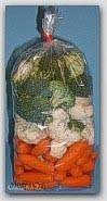 "4x16"" 2mil Clear Poly Bags 2000/cs"