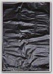 "6-1/4x9-1/4"" Black HDPE Merchandise Bags *No Handles* 1000/cs"