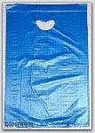 "8-1/2x11"" Blue HDPE Merchandise Bags 1000/cs"