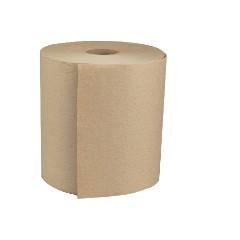 """8""""x600ft/rl Brown Hardwound Roll Towel Greenseal 6rl/cs"""