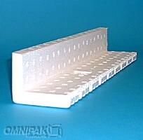 "35-1/4x3x2-1/4"" - FEP20 Foam Edge Protectors (Molded Polystyrene) - 100/Carton"