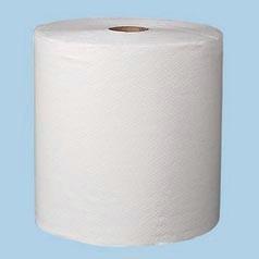 "8""x600ft/rl White Signature Premium Roll Towels 12rl/cs"