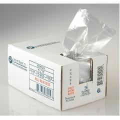"6x3x15"" .68mil LLDPE Food Grade Poly Bags 1000/cs 3.5-Quart"
