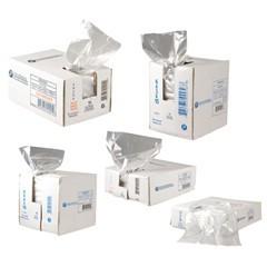 "12x8x30"" 1.0mil LLDPE Food Grade Poly Bags 500/cs 24-Quart"