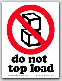 "4x6"" International Labels Do Not Top Load 500/rl"
