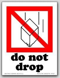 """3x4"""" International Labels Do Not Drop 500/rl"""