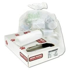 """30x37"""" 20-30gl 13mic High Density Trash Can Liners 500/cs"""