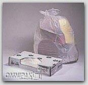 "38x58"" White .9-mil LDPE Trash Bags Bulk Pack 100/cs"