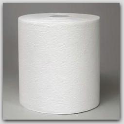 "7.9""x600ft/rl White KCC 50606 KLEENEX Hardwound Roll Towels 6rl/cs"