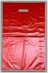 "13x3x21"" Red HDPE Merchandise Bags 500/cs"