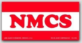 "2x4"" NMCS Labels 500/rl (Meets military standard.)"