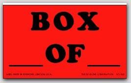 "3x5"" Box of Shipping Labels 500/rl"