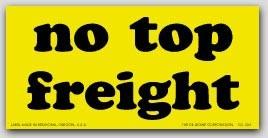 """3x5"""" No Top Load Shipping Labels 500/rl"""