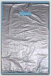"16x4x24"" Silver HDPE Merchandise Bags 500/cs"