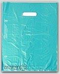 """12x15"""" Teal Green HDPE Merchandise Bags 1000/cs"""