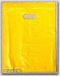 "8-1/2x11"" Yellow HDPE Merchandise Bags 1000/cs"