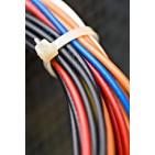 "5.6"" White Cable Ties aka ""Zip Ties"" - 1000/pak"