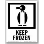 """4x6"""" International Labels Keep Frozen 500/rl"""