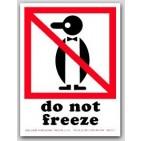 "4x6"" International Labels Do Not Freeze 500/rl"