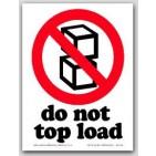 """3x4"""" International Labels Do Not Tilt 500/rl"""
