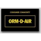 "1-1/2x2-1/2"" Labels ORM-D-AIR Consumer Commodity 1000/rl"