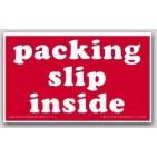 "3x5"" Packing List Inside Labels 500/rl"
