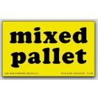 "3x5"" Mixed Pallet Shipping Labels 500/rl"