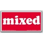 """3x6"""" Mixed Shipping Labels 500/rl"""